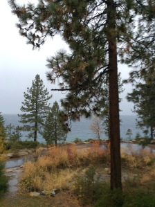 Tahoe in the fog